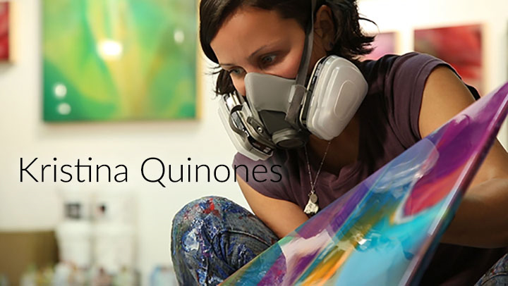 San Francisco Abstract Artist, Kristina Quinones